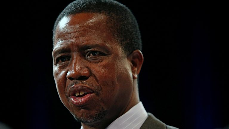 President Edgar Lungu accused the ambassador of being 'disrespectful'