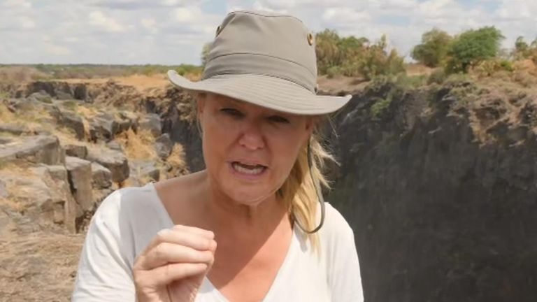 Reporting From The Edge Of Victoria Falls