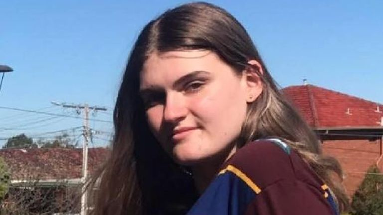 Schoolgirl Zoe Hosking is also missing. Pic: Facebook