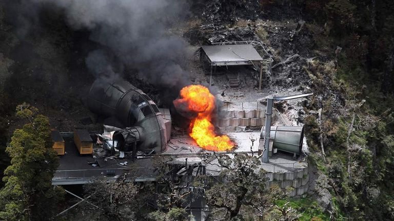 The 29 trapped miners are believed to have died in the explosion