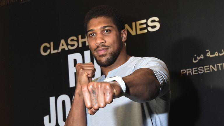 Pressure is all on Joshua, says Ruiz Jr