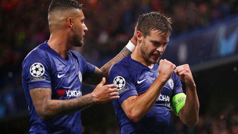 Cesar Azpilicueta scored Chelsea's decisive goal