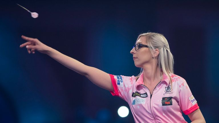 PDC Darts Championship: Fallon Sherrock is through to third round