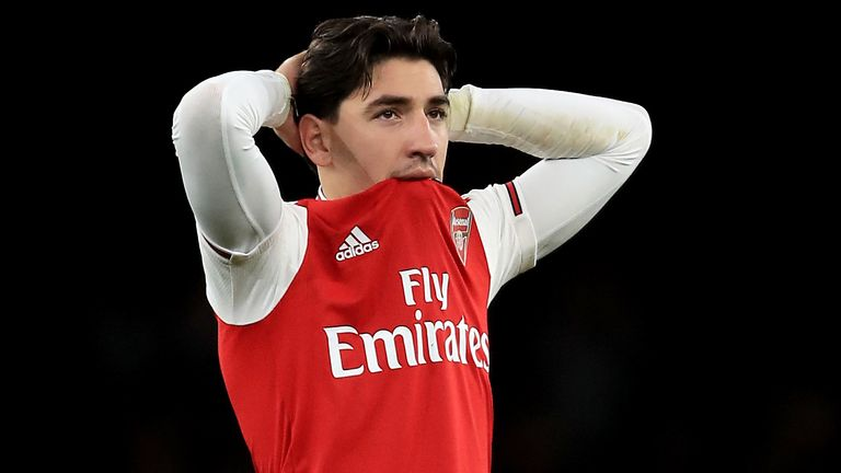 Hector Bellerin after Arsenal's defeat to Brighton