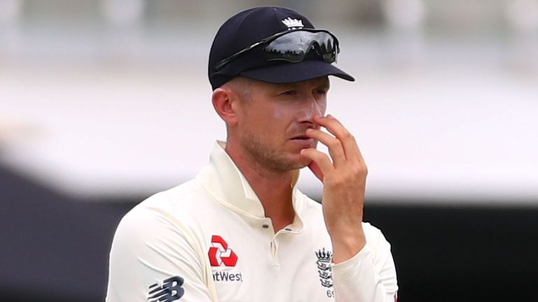 Having already survived one scare, Williamson chipped the ball to Joe Denly at midwicket, Jofra Archer was already celebrating - but Denly shells it!