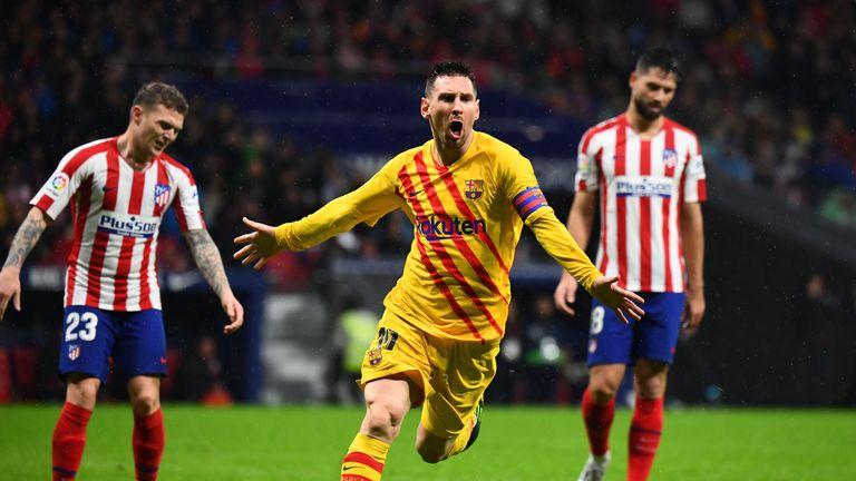 Messi discusses his Barcelona future