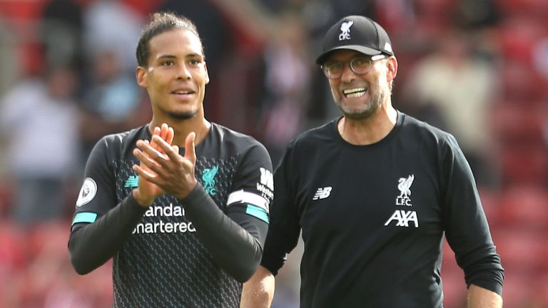 Klopp says Virgil van Dijk would have deserved to win Ballon d'Or as well as Lionel Messi