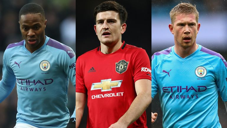 Manchester derby combined XI