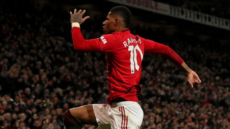 Manchester United manager Ole Gunnar Solskjaer says his players enjoyed themselves as they beat Tottenham with two Marcus Rashford goals on Jose Mourinho's return to Old Trafford