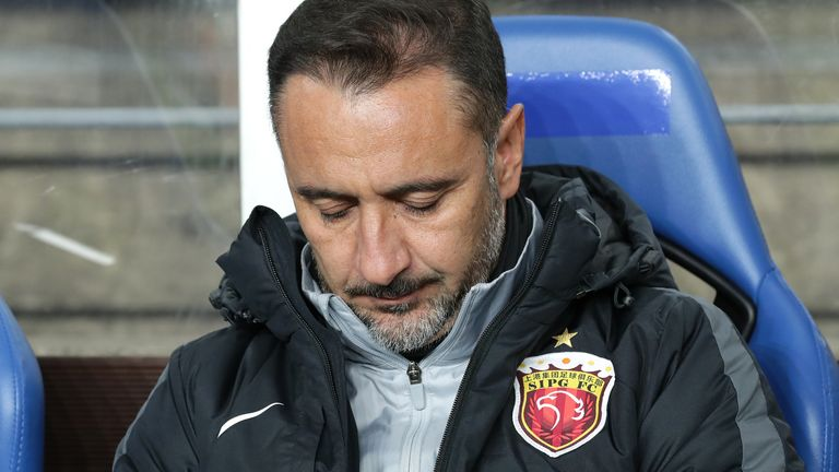Vitor Pereira has been managing in the Chinese Super League