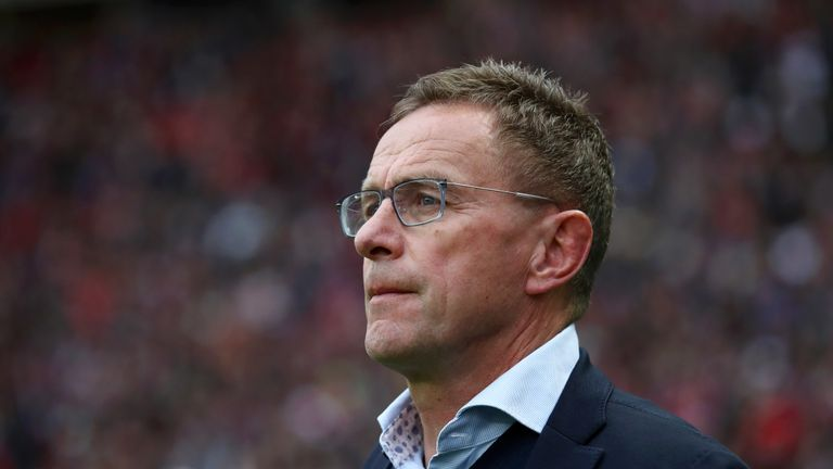 With Jurgen Klopp set to sign his fourth player from Ralf Rangnick's production line, the former RB Leipzig boss says the Liverpool manager 'doesn't need to thank' him