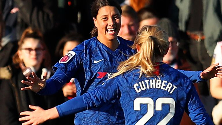 Sue Smith says Chelsea Women's 4-1 win at defending champions Arsenal was a statement of intent in the WSL