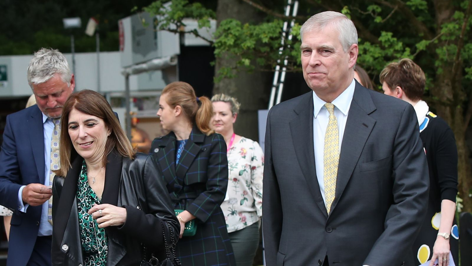Prince Andrew's former aide quits Pitch business role