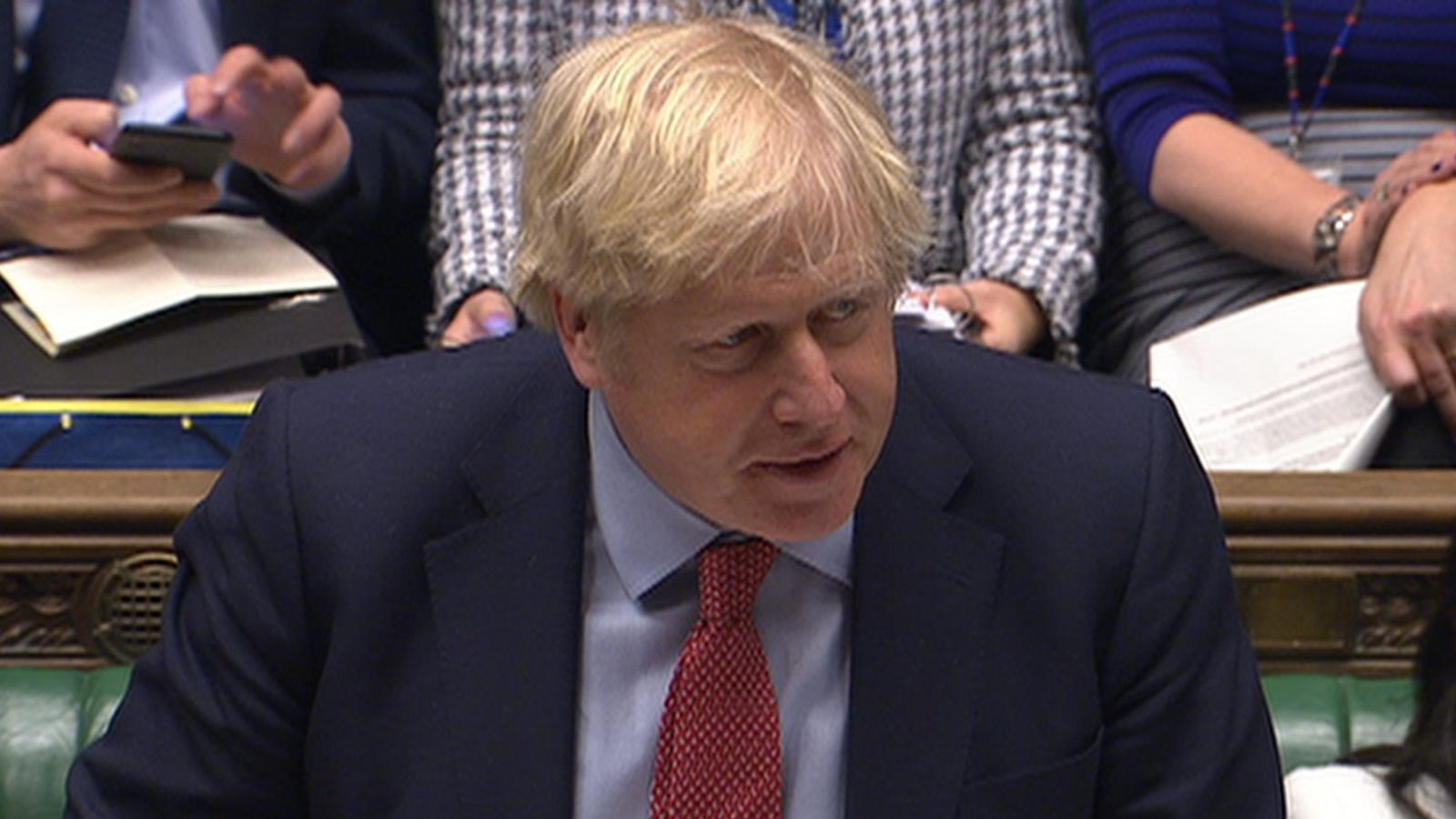 Boris Johnson asks for 'rancour and division' to be left behind after Brexit bill clears parliament
