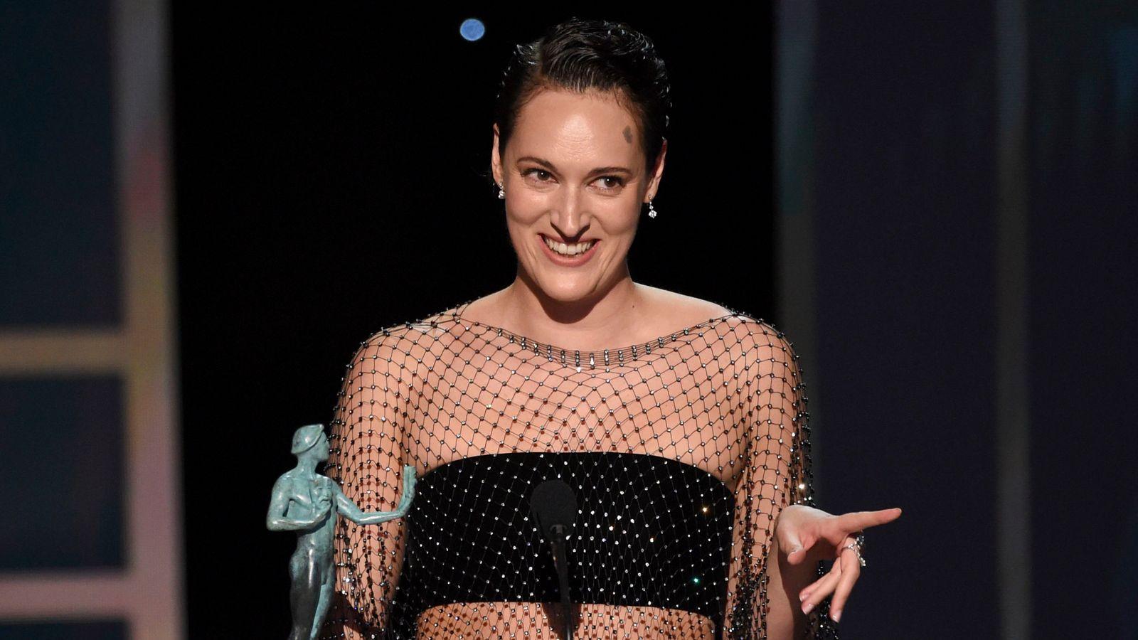 Parasite, Pitt and Waller-Bridge among winners at Screen Actors Guild Awards - Sky News