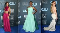 Critics' Choice Awards style (L-R): Zendaya, Billy Porter, Jennifer Lopez