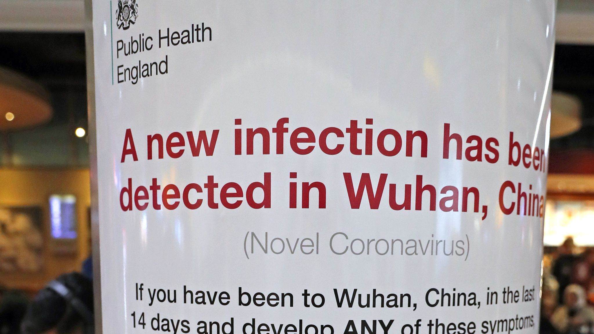 Coronavirus: UK 'looking at all options' to help Britons in Wuhan