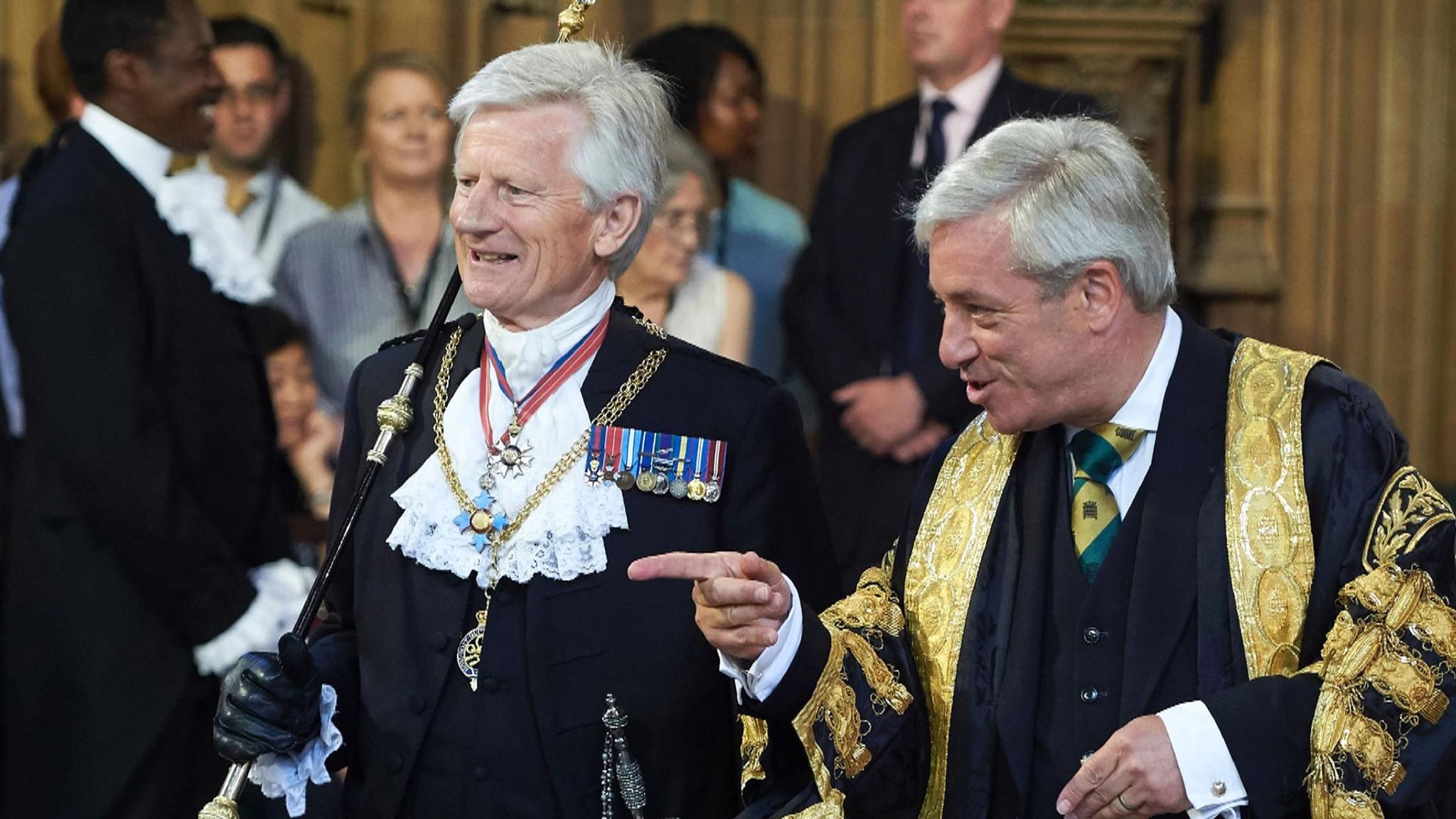 Former Speaker John Bercow 'brutalised Commons staff', says ex-Black Rod