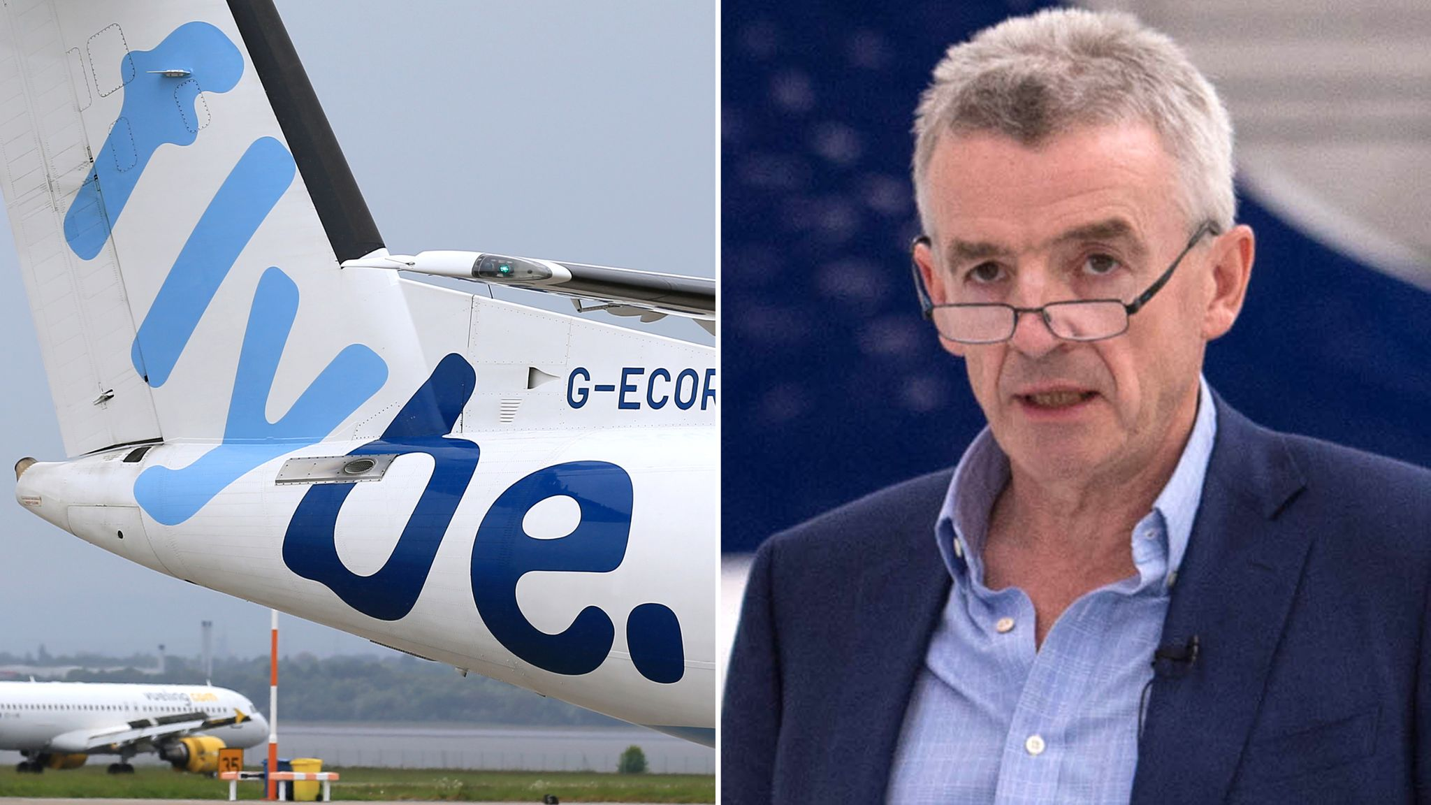 Ryanair chief's Flybe row with Javid takes off