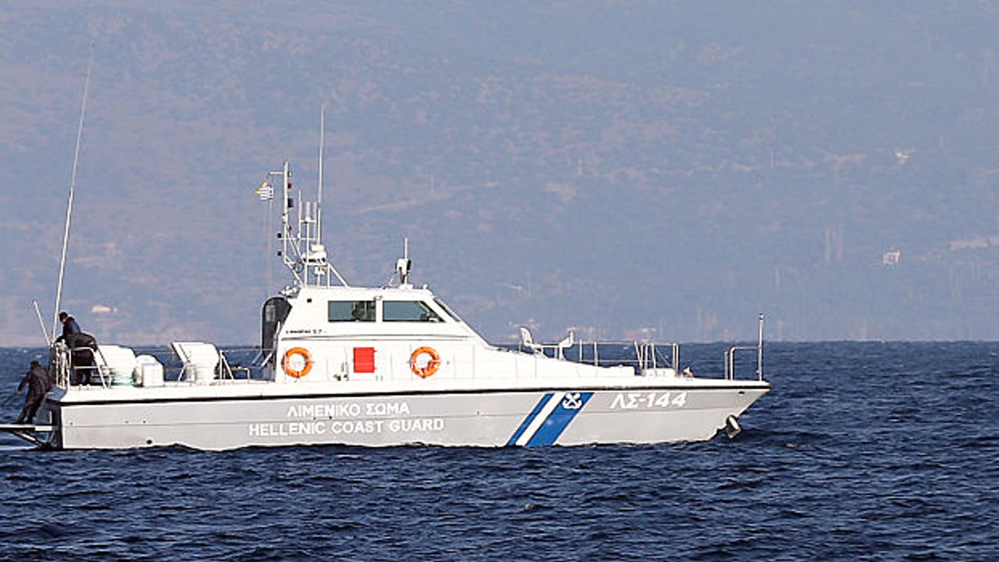 Search for survivors as 12 drown after boat sinks near Greek island of Paxos
