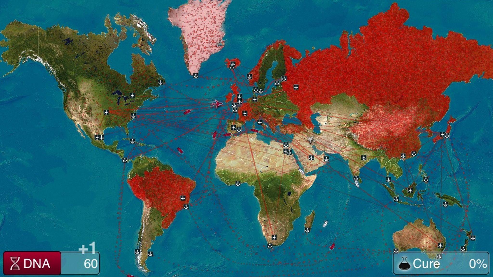 coronavirus declared plague