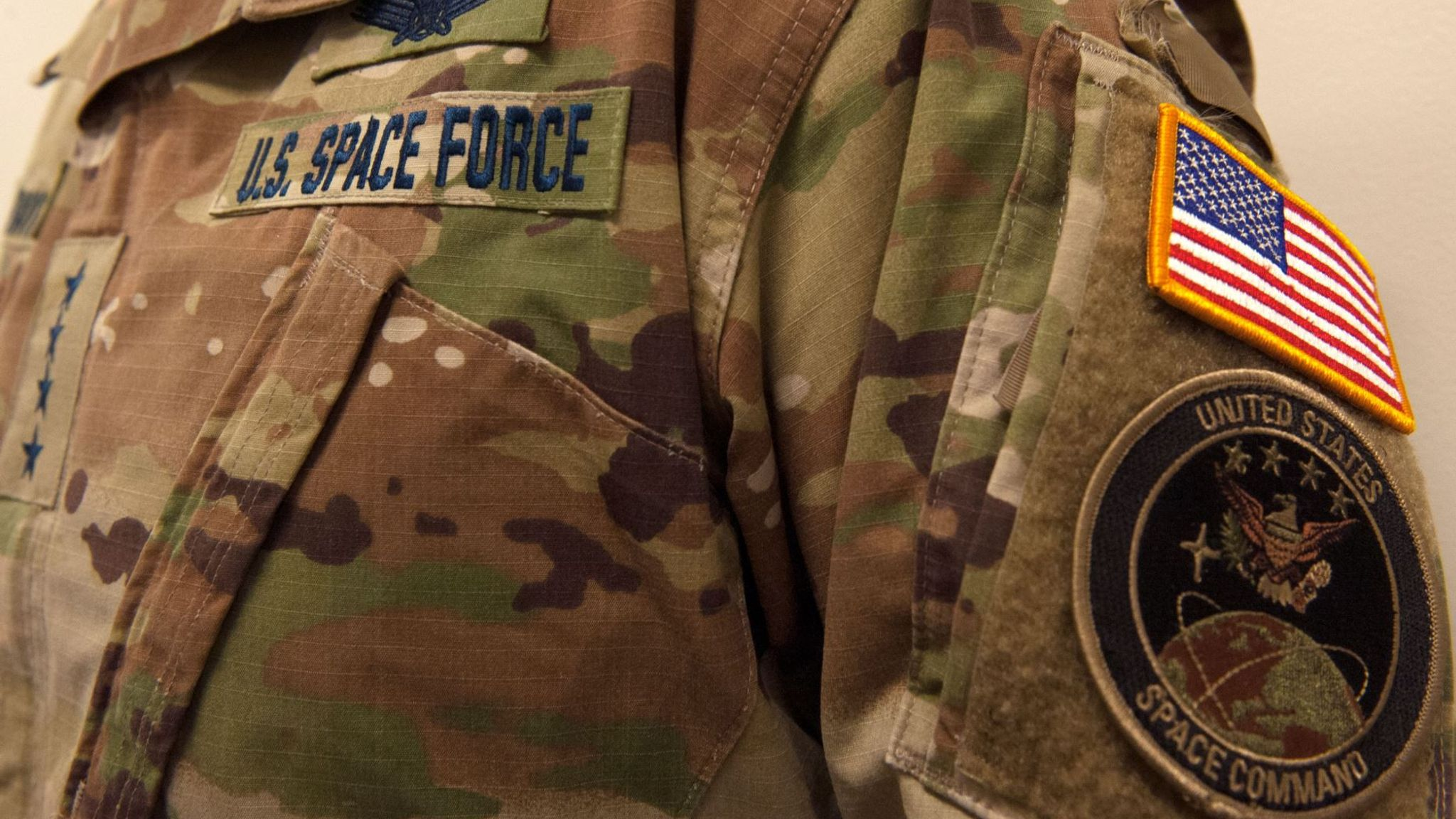 US Space Force mocked over new camouflage uniform