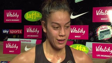 Wilson shines for the Silver Ferns
