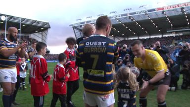 Burrow, JJB walk out onto Headingley