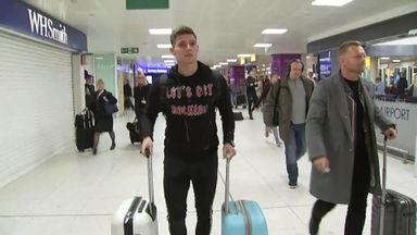 Klimala arrives in Glasgow to sign for Celtic