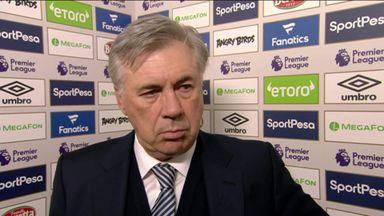 Ancelotti: We were unlucky