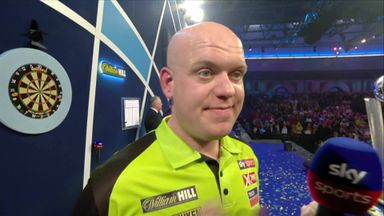 Van Gerwen: I can only blame myself