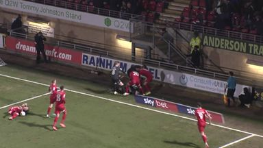 Tempers flare at Leyton Orient