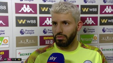 Aguero: I want to keep scoring