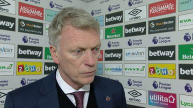 Moyes sees positives in performance