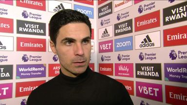 Arteta praises effort and commitment