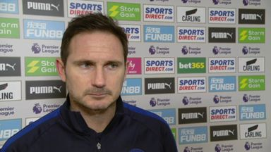 Lampard: We're lacking goals