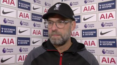 Klopp: One team deserved win, that was us
