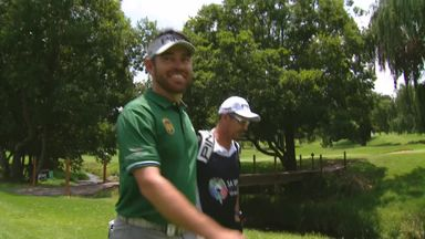 Oosthuizen's lucky hole-in-one