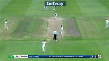 Philander goes to Broad on day five