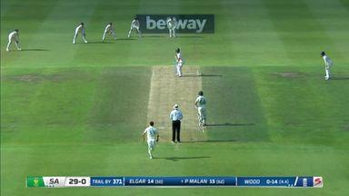 England break deadlock as Malan out