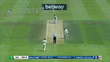 SA v England morning session highlights