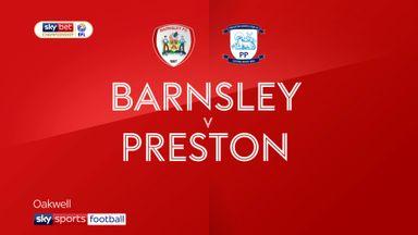 Barnsley 0-3 Preston