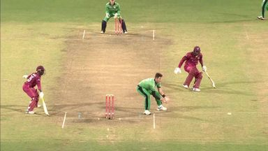 Final-over drama in Windies vs Ireland