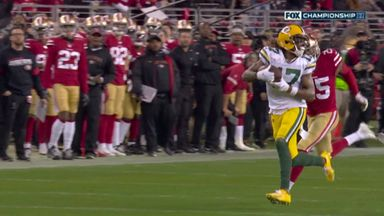 Rodgers finds Adams with 65-yard missile