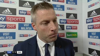 Harris encouraged by Cardiff's performance