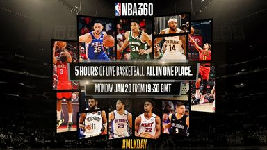 Watch NBA 360 on MLK Day
