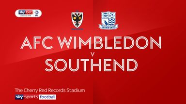 AFC Wimbledon 1-1 Southend
