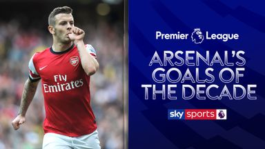 Arsenal's Best Goals of the Decade