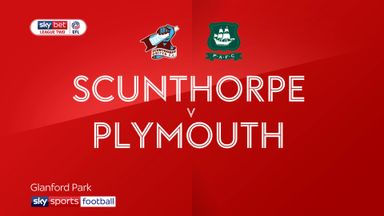 Scunthorpe 1-3 Plymouth