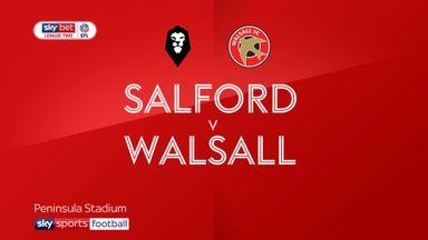 Salford 1-2 Walsall